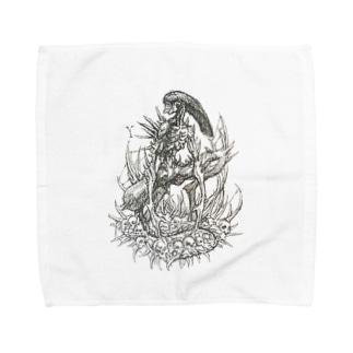 エイリアン Towel handkerchiefs