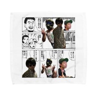 飲酒三銃士 Towel handkerchiefs