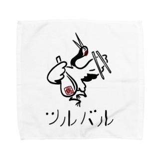ツルバル  vol.1 公式グッズ Towel handkerchiefs