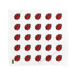 Ladybeetle Red Towel handkerchiefs