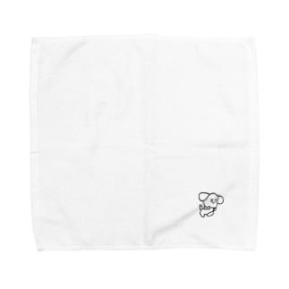 旅する犬 Towel handkerchiefs