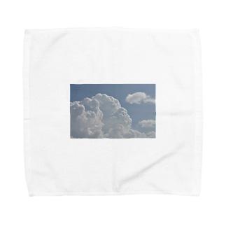 くもっと Towel handkerchiefs