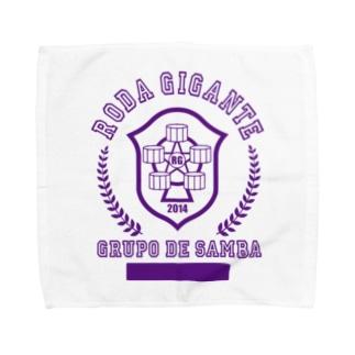 カレッジロゴ(Roxo) Towel handkerchiefs