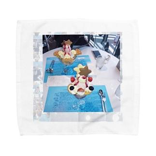 パフェ Towel handkerchiefs