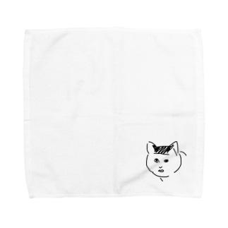 ブサ猫のり夫 Towel handkerchiefs