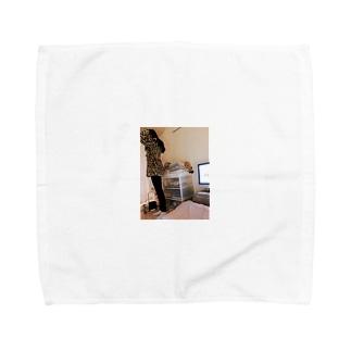 moon me Towel handkerchiefs