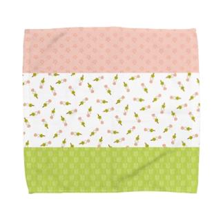 お団子 Towel handkerchiefs