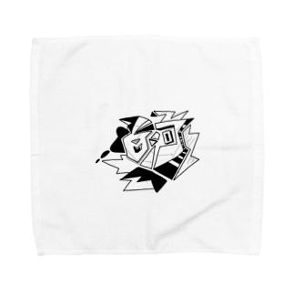 白河 Towel handkerchiefs