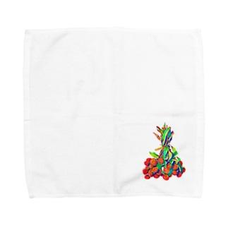 レチシリーズ Towel handkerchiefs