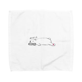 お昼寝くまさん Towel handkerchiefs