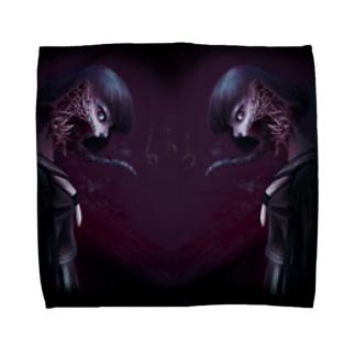 沙華子グッズ Towel handkerchiefs