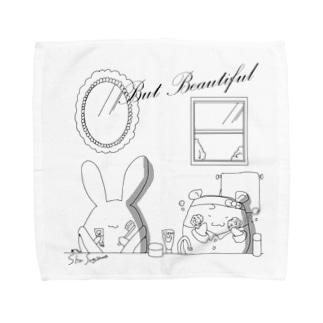 But Beautifulシリーズ Towel handkerchiefs