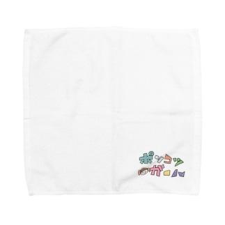 ポンコツガール Towel handkerchiefs
