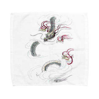 AnomaliA-Nachiの和風ドラゴン Japanese Dragon Towel handkerchiefs