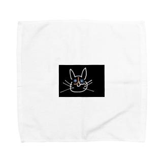 左寄りのベニャてぃー Towel handkerchiefs