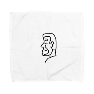 横顔さん Towel handkerchiefs
