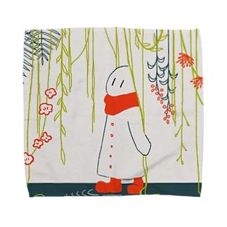 しょくぶつのあめ Towel handkerchiefs