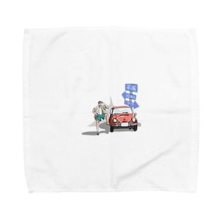 タイムトラベラー Towel handkerchiefs