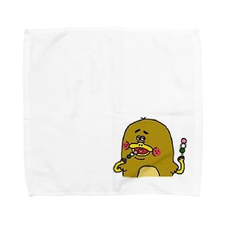 カモノハシのモカちゃん Towel handkerchiefs