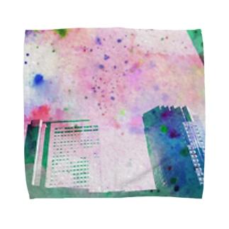 にしのしんじゅく Towel handkerchiefs