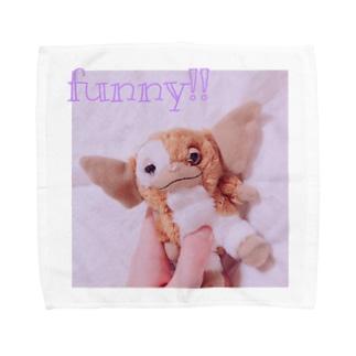 夜更かし!!Funny!! Towel handkerchiefs