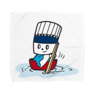 そうめん侍「どんぶらこっこ」 Towel handkerchiefs