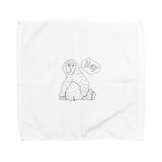 ガン見の猿 Towel handkerchiefs