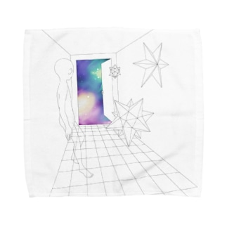 チャネルのSPACE Towel handkerchiefs