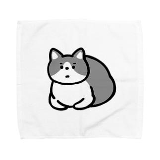 ふてねこ Towel handkerchiefs