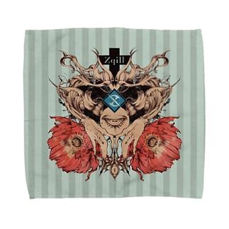 傀門-貳 Towel handkerchiefs