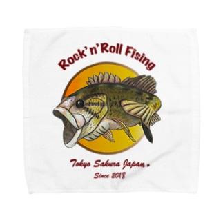 Rock'nブラックバス Towel handkerchiefs