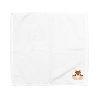 動物シリーズ りす Towel handkerchiefs
