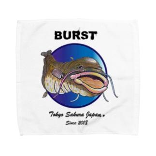 ナマズんBURST Towel handkerchiefs