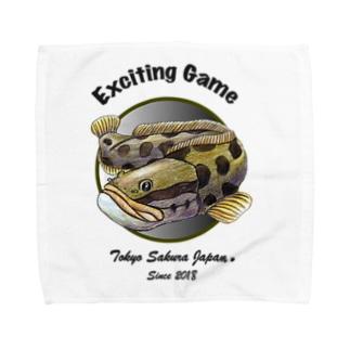 ライギョGAME Towel handkerchiefs