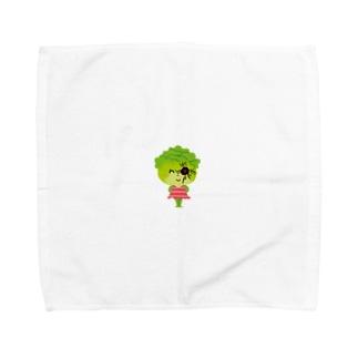 邪眼のレタスさん Towel handkerchiefs