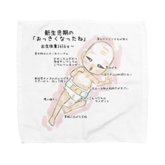 新生児ぽん Towel handkerchiefs