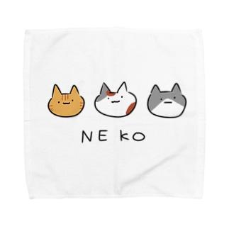 ネコマーク Towel handkerchiefs
