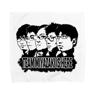 チーム宮﨑グッズ(リアルver.) Towel handkerchiefs