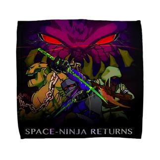 SPACE-NINJA RETURNS Towel handkerchiefs