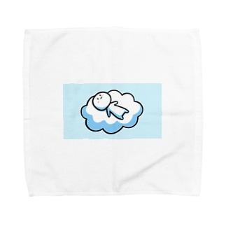 だいずくん  (雲) Towel handkerchiefs