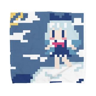 氷海にチルノあらわる Towel handkerchiefs