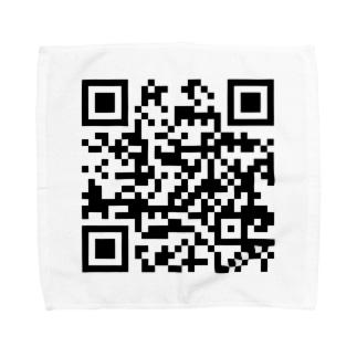 NANJCOIN公式サイトQRコード入り Towel handkerchiefs