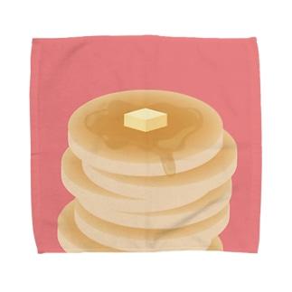 おいしいぱんけーき Towel handkerchiefs