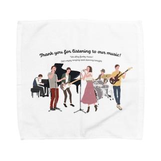 love music Towel handkerchiefs