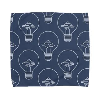ぴかぴかふじさん Towel handkerchiefs