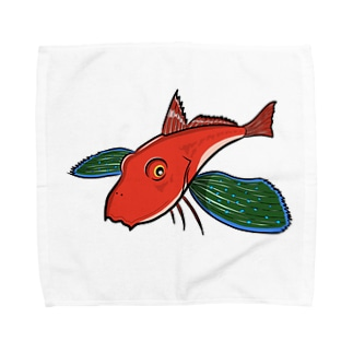 空飛ぶホウボウ Towel handkerchiefs