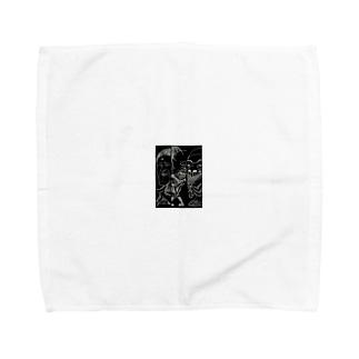 女装オヤジーズシリーズ Towel handkerchiefs