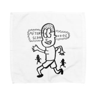 AFTER  SCHOOL  Towel handkerchiefs