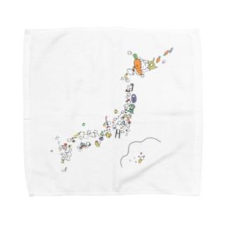 usagijapan Towel handkerchiefs