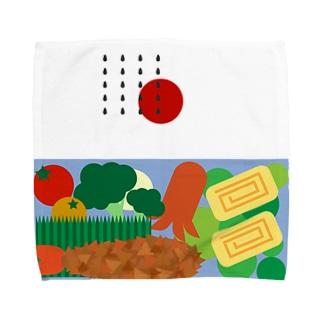 おいしいおべんとう Towel handkerchiefs
